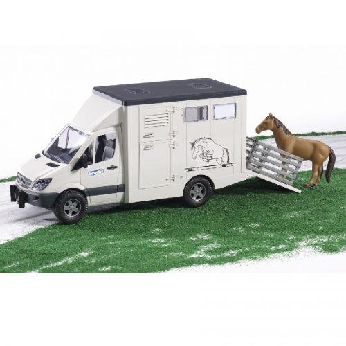 مرسدس بنز حمل اسب Bruder,02533