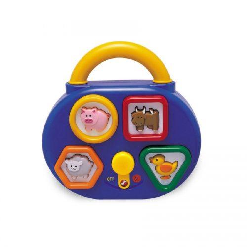 جعبه حیوانات موزیکال تولو 89180 Tolo