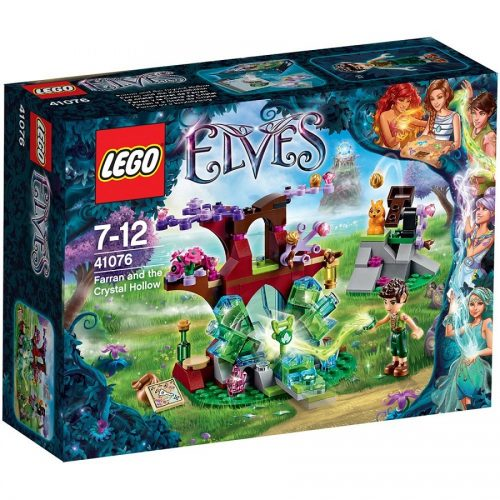 لگو 41076,سریLego,Farran and the Crystal Hollow,Elves