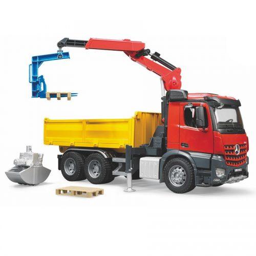 کامیون و جرثقیل ساختمانی بنز برودر Bruder,MB,03651