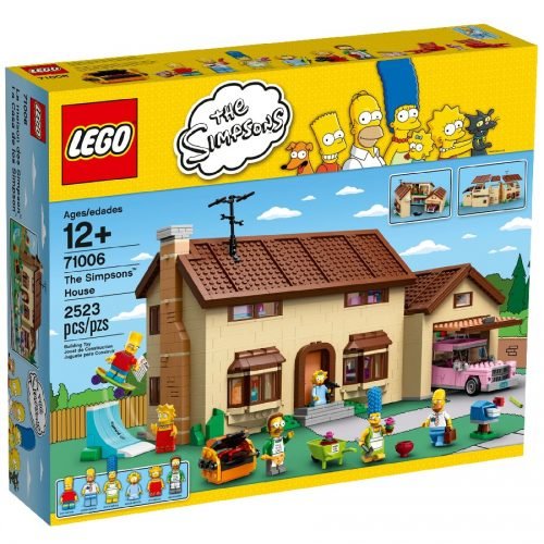The Simpsons House,lego,لگو 71006