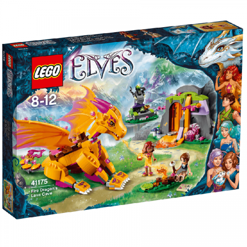 لگو41175,سری Eleves, اژدهاي آتشين،Lego,Fire dragon