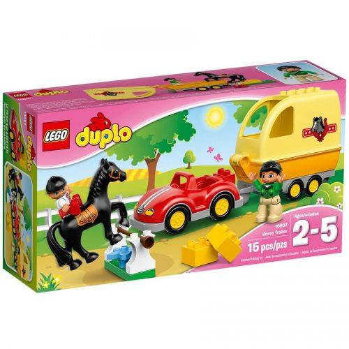 لگو سری Duplo مدل Horse Trailer 10807