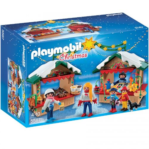 5587,پلی موبیل,Playmobil,christmas fair,