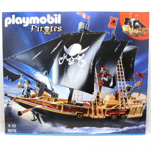 6678,Playmobil,Pirates ship,پلی موبیل،دزدان دریایی
