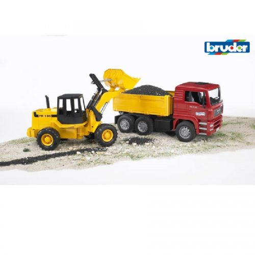 02752,Backhoe loader,bruder,Man,برودر،، من، کامیون ساختمانی، لودر
