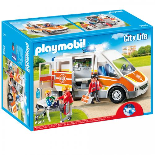 آمبولانس پلی موبیل 6685,Playmobil,Ambulance