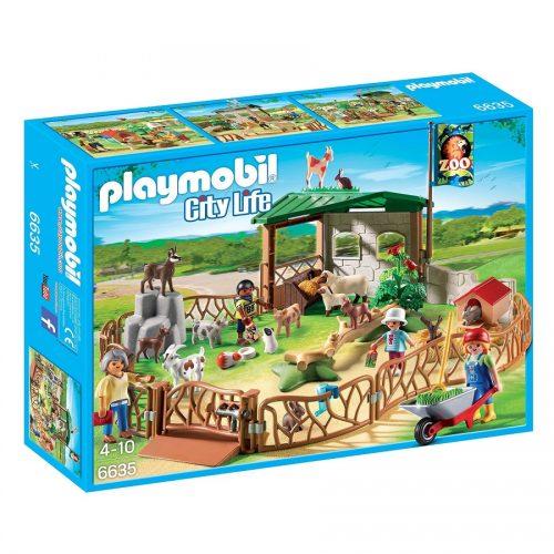 باغ وحش حیوانات اهلی 6635,Playmobil,Children's Petting Zoo
