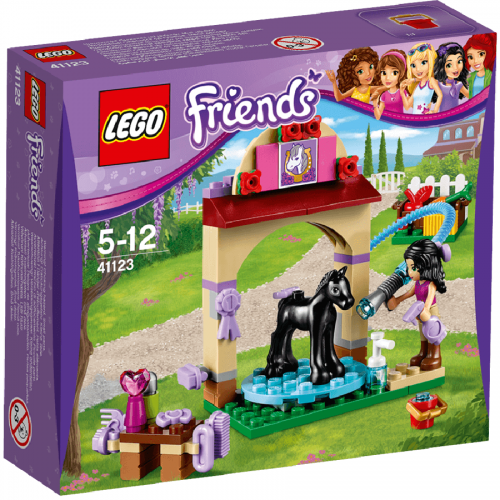 لگو 41123،سریLego,Foal's washing Station, Friends
