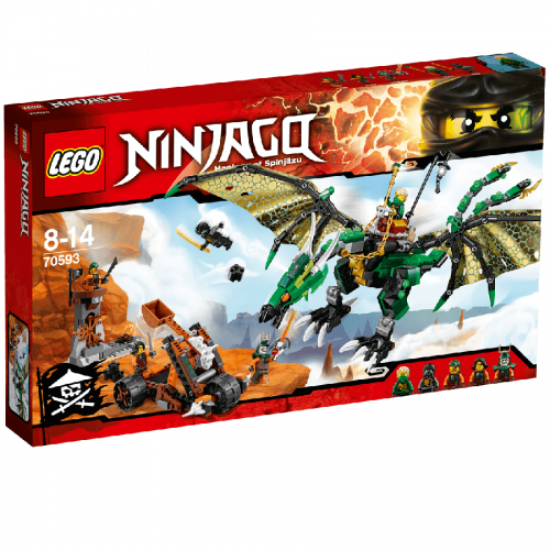 لگو 70593 Lego,Ninjago,The Green NRG Dragon