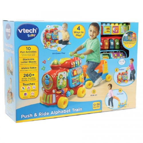 قطار الفبا VTech, Push and ride Alphabet train,181903