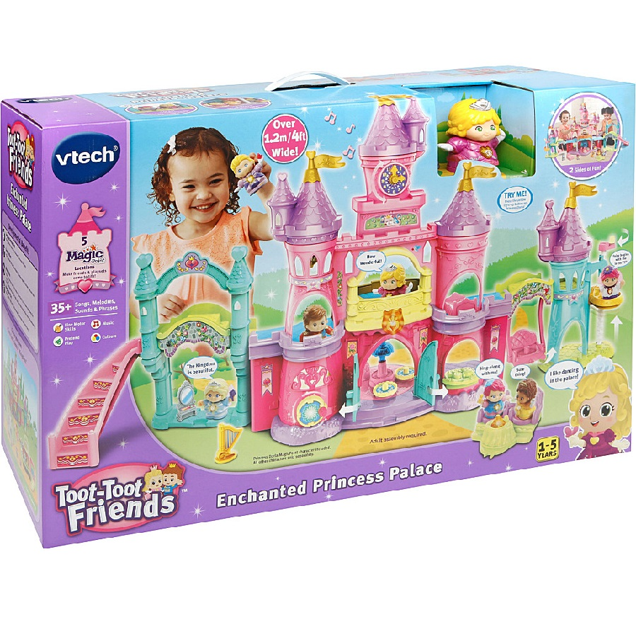 قصر پرنسس دارلا Vtech,Kingdom Enchanted Princess Palace،177503