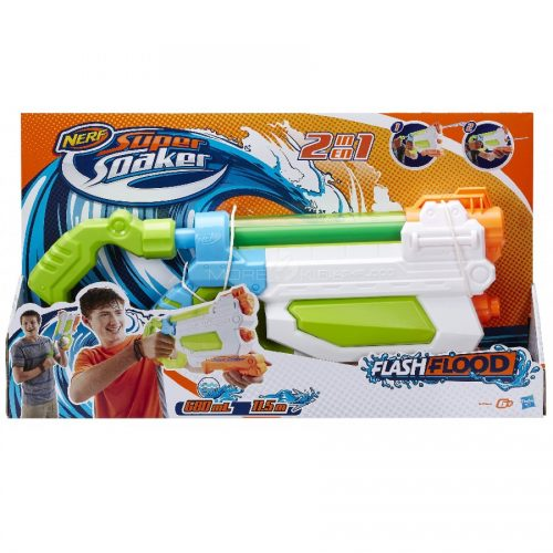 تفنگ آبپاش NERF,SUPER SOAKER FLASHFLOOD BLASTER،A9466