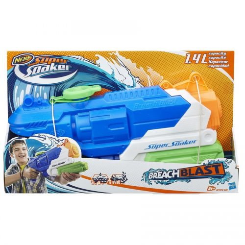 تفنگ آبپاش NERF,Super Soaker, Breach Blast،B4438