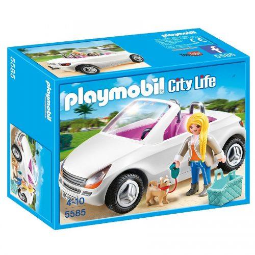 ست زن و پاپی پلی موبیل Playmobil,Nice Cabrio