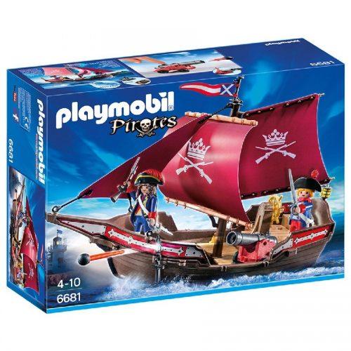 قایق گشت سربازان پلی موبیل Playmobil,Soldiers' Patrol Boat،6681