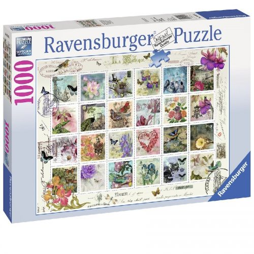 پازل Ravensburger, Briefmarkensammlung 1000 pcs،19607