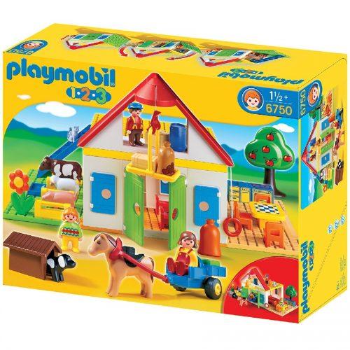 مزرعه بزرگ پلی موبیل Playmobil,Large Farm،6750
