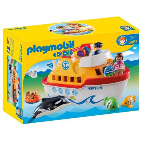 کشتی تفریحی Playmobil,My Take Along Ship ، 6957