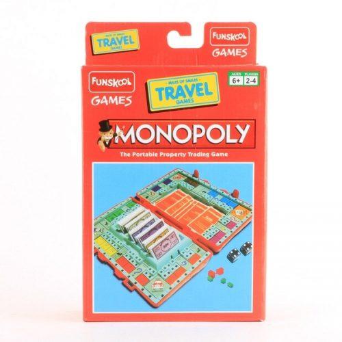 مونوپلی مسافرتی Funskool, Monopoly, Travel،9600100