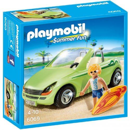 موج سواری 6069 پلی موبیل Playmobil,Surf-Roadster