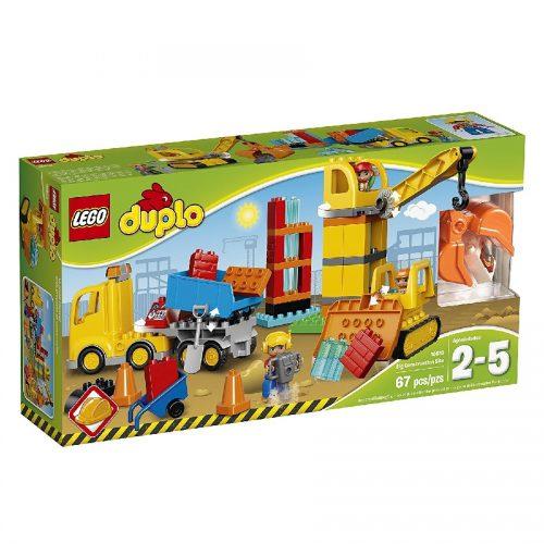 لگو سایت ساخت و ساز داپلو 10813 Lego,Duplo, Big Construction
