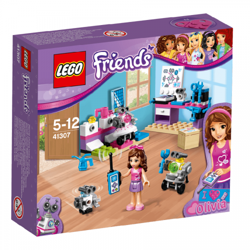 لگو 41307 سري Lego,Olivia's Creative Lab, Friends