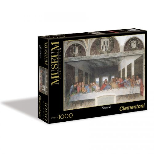 پازل شام آخر 1000 تکه 31447 Clementoni, Leonardo - Cenacolo