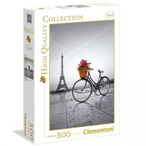 پازل 500 تکه 35014 Clementoni, Romantic Promenade In Paris