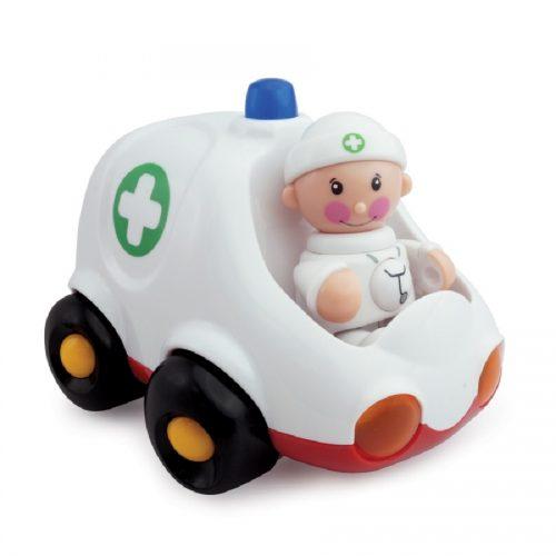 ماشین آمبولانس با آدمک تولو کد 89897 Tolo