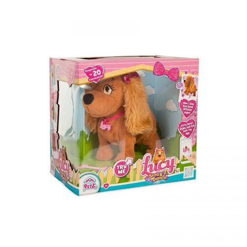 ربات پولیشی سگ لوسی رقصنده و آوازه خوانIMC, Lucy