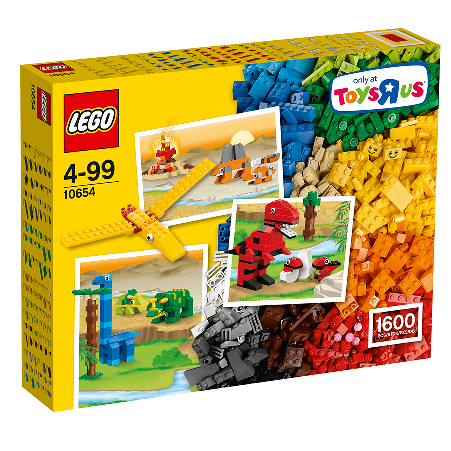 لگو 1600 تکه سري Classic مدل Lego, Creative Brick Box 10654