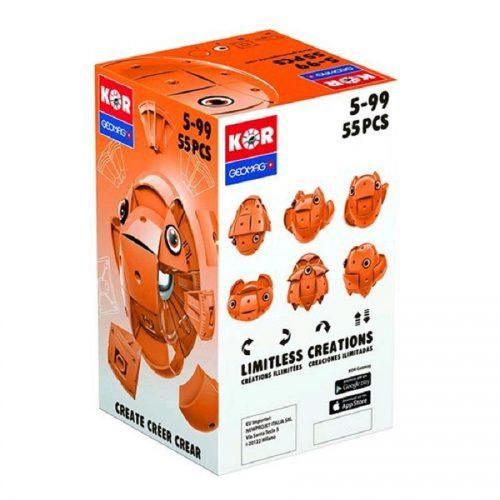 مدلسازی مگنت ژیومگ نارنجی مدل KOR Orange کد 671