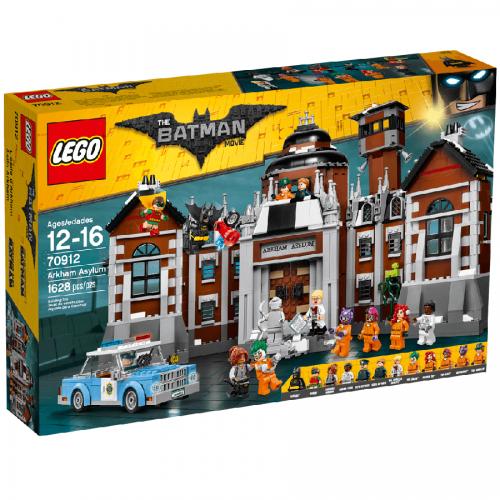 لگو آسایشگاه آرخام سري Batman کد Lego, Arkham Asylum 70912