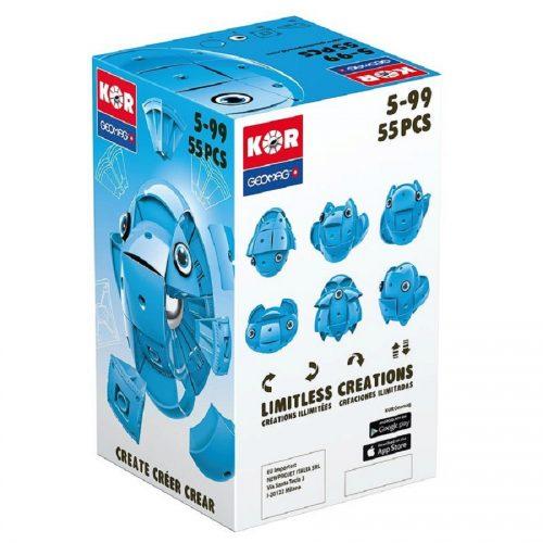 مدلسازی مگنت ژیومگ آبی مدل KOR Blue کد 673