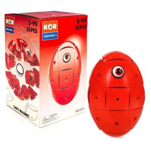 مدلسازی مگنت ژیومگ قرمز مدل KOR Red کد 676 ,Geomag