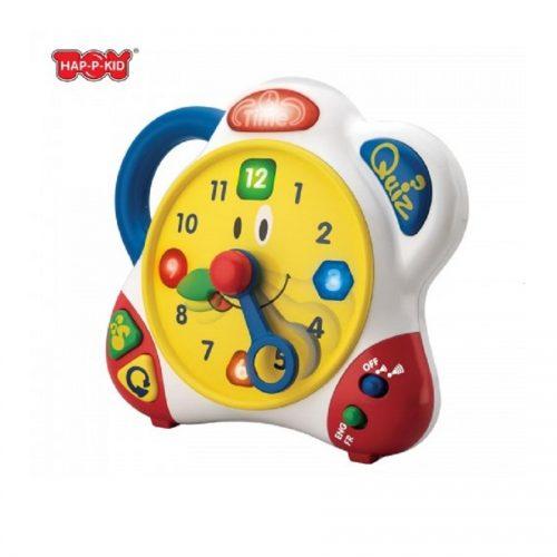 بازی آموزشی ساعت کد 3898 هپی کید Hap-p-kid, Horloge Educative Bilingue