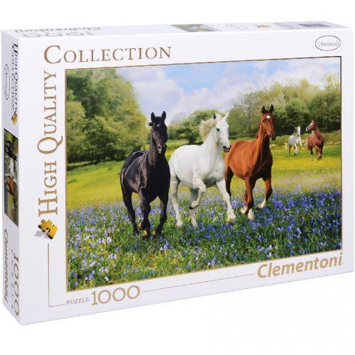 پازل 1000 تکه اسب ها 39255 Clementoni, Horses
