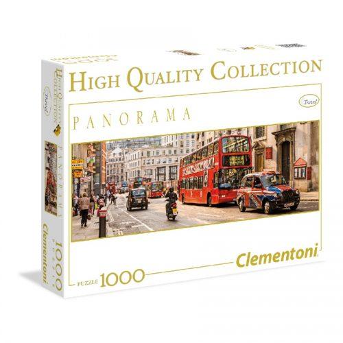 پازل 1000 تکه پانوراما 39300 Clementoni, London