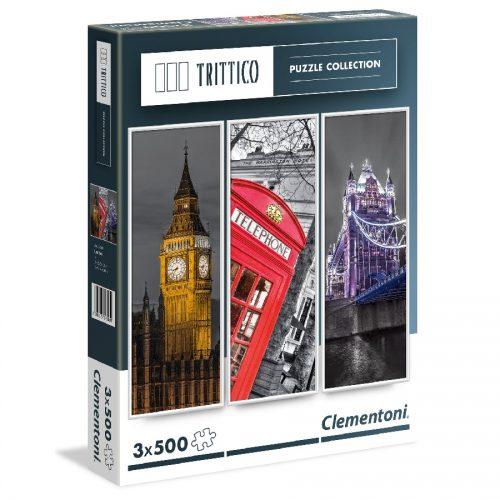 پازل 3*500 تکه لندن 39306 Clementoni, London