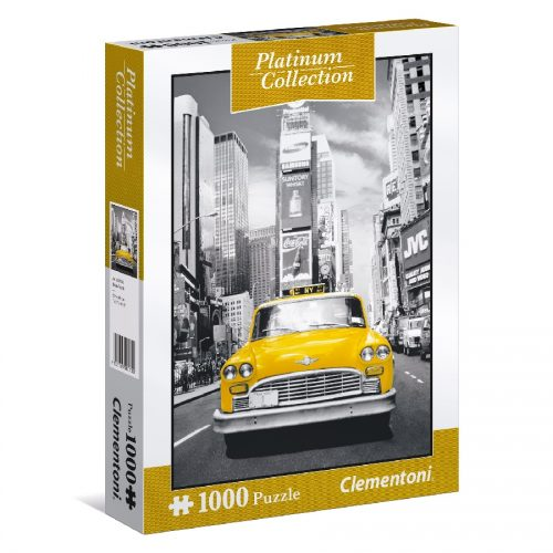 پازل 1000 تکه سری پلاتین نیویورک 39398 Clementoni, New York