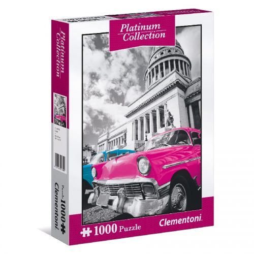 پازل 1000 تکه سری پلاتین کوبا 39400 Clementoni, Cuba