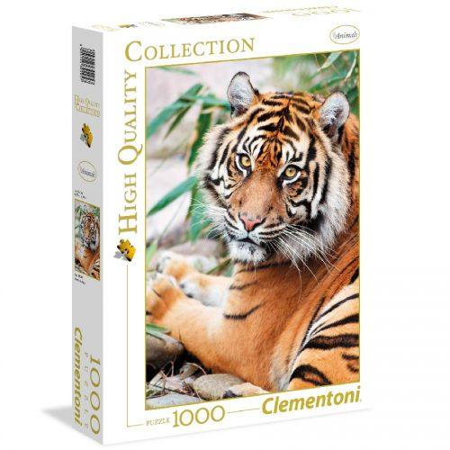 پازل 1000 تکه ببر سوماتران 39295 Clementoni, Sumatran Tiger