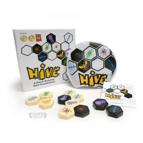 بازی فکری هایو (کندو) Hush, Hive