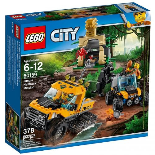لگو سري City مدل Lego, City, Jungle Half track mission 60159