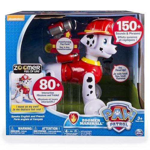 ربات اسباب بازی مارشال زومر Zoomer Paw Patrol Marshall