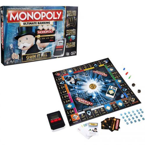 بازی فکری مونوپلی هزبرو Hasbro, MONOPOLY Ultimate Banking