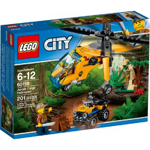 لگو سري City مدل Lego, City, Jungle Cargo Helicopter 60158
