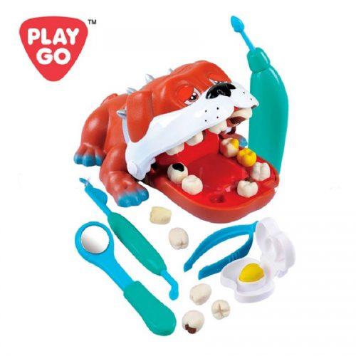 خمیر بازی پلي گو مدل دندانساز سگ کد 8678