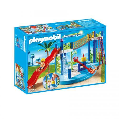 پارک آبی پلی موبیل 6670,Playmobil,Water Park play area